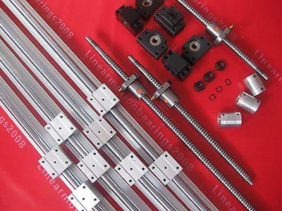 2 SBR sets +3 ballscrews RM1605+3BK/BF12 +3 couplers
