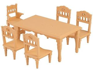 Image Is Loading Sylvanian Families DINING TABLE SET Epoch KA 421
