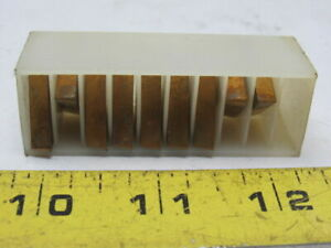 Valenite-VN2-Carbide-Turning-Inserts-Style-TPG433-Lot-of-9