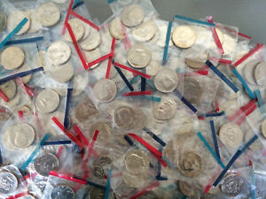 Old-Rare-UNCIRCULATED-US-Kennedy-Half-Dollar-Mint-Coin-Mixed-Lot-Buy-5-get-1-fre