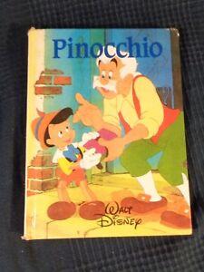 Pinocchio Per Walt Disney Edizioni Francia Loisirs 1988 Antico Vintage