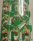 NRL 2015 Traders Common Set CANBERRA RAIDERS 10 cards