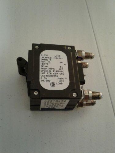 Novo Airpax 100a circuito de corrente contínua Bala Disjuntor Ge 2 Pole lmlhpk 11-1RLS4-30406-3