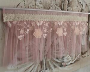 Prinzessinen Gardine Tendina A Vetro Shabby Chic Tenda Vintage 30 X