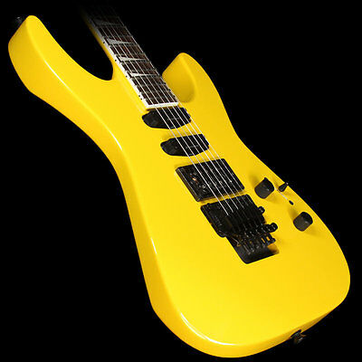 Used Jackson SL3X Soloist Electric Guitar Taxi Cab Yellow