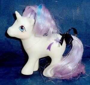 Rose-My-Little-Pony-Vintage-Unicorn-Baby-Glory-4-VERY-GOOD-glittery-symbols-G1