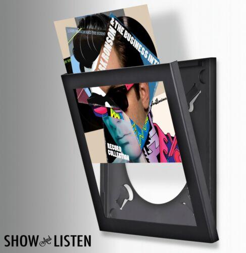 Show & Listen Easy Change Record Frame (Black) New & Sealed