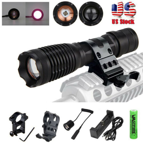 Infrared IR Illuminator 940nm 10w Night Vision Zoom LED Night Flashlight Lamp