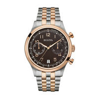 Bulova 98b248 Vintage Men's Classic Chronograph Stainless Steel Watch- Rrp £ 359