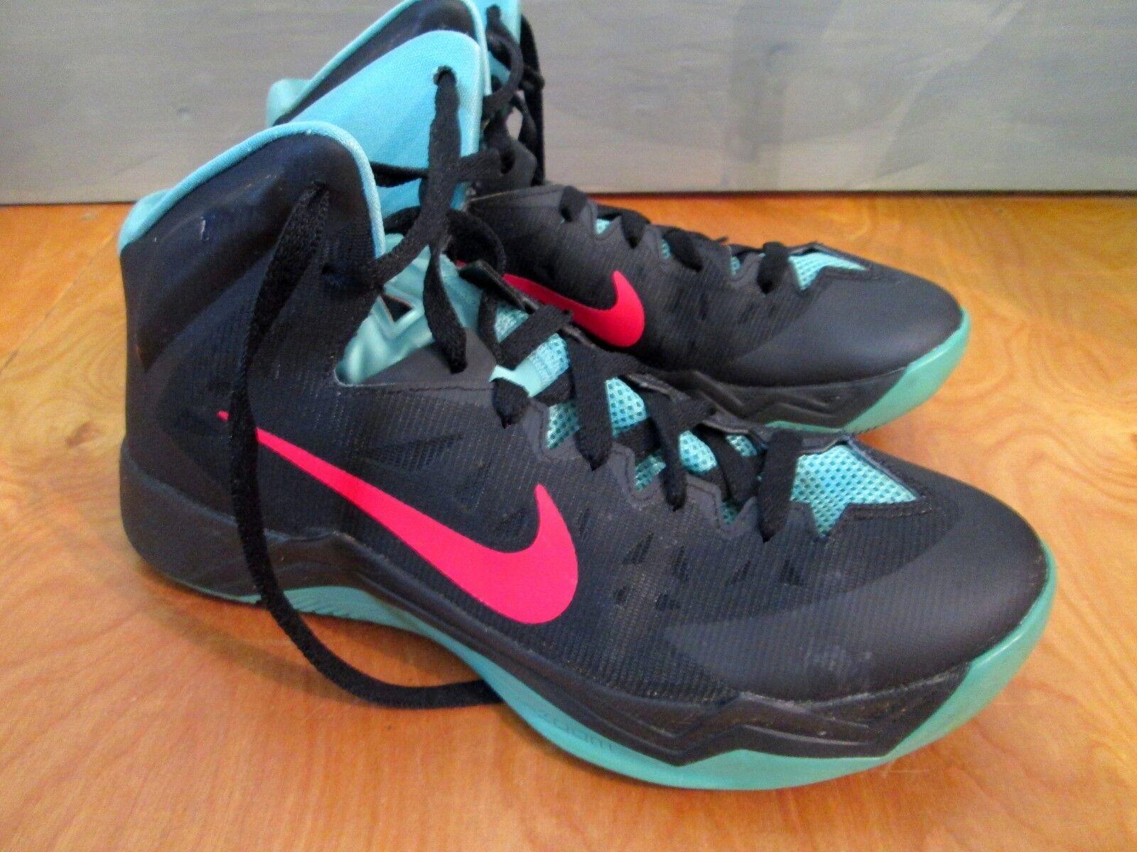 4d55110aedc9a6 Nike Retro Zoom Hyperquickness Hyperquickness Hyperquickness Basketball  Chaussures/Baskets/Hi-Tops sz. très bon état   Les Produits Sont Vendu Sans  ...