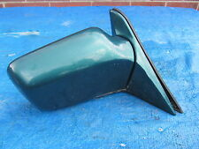 DOOR MIRROR O/S DRIVERS SIDE GREEN From E30 BMW 316i TOURING