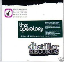 (L489) The Operators, B-Line - DJ CD