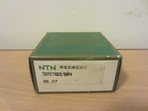 FAFNIR 2MM207WI DUL NTN 7207CT1GD2//GNP4 SUPER PRECISION BEARINGS