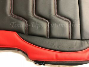 Stupendous Details About 2015 2019 Ford F 150 Xl Xlt Supercrew Alea Black Red Leather Seat Covers Custom Gmtry Best Dining Table And Chair Ideas Images Gmtryco