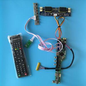 (HDMI + DVI + VGA + Audio) LCD Controller 4 CCFL Board Kit for Panel LM201WE3 (TL) (F5)