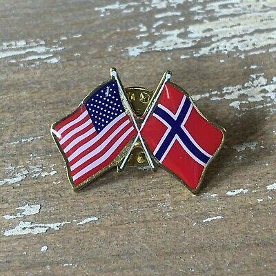 Norway Flag Tie Tack
