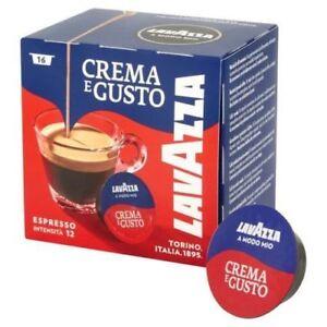 LAVAZZA A MODO MIO CREMA E GUSTO 180 capsule caffe cialde caffe ORIGINALI
