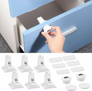 Kit-Verrous-Magnetique-Placard-Securite-Enfant-Tiroir-Serrures-Bebe-Protection