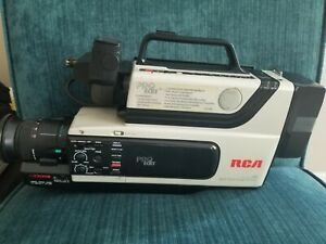Rca Cc310 Pro Edit Camcorder Bundle W Case 3 Vhs Tapes Parts Repair Only Ebay