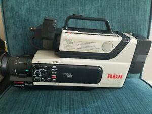 Rca Cc310 Pro Edit Camcorder Bundle W Case 3 Vhs Tapes Parts Repair Only Ebay