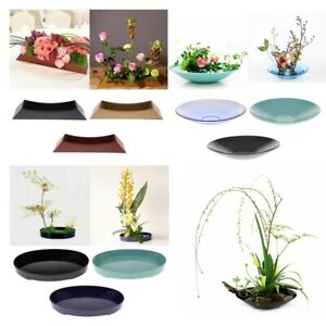 Ikebana-Suiban-Display-Vase-Pot-Tray-Container-for-Flower-Arrangement