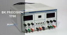 Bk Precision 1760 Triple Output 30v30v5v Power Supply Look Ref 381g