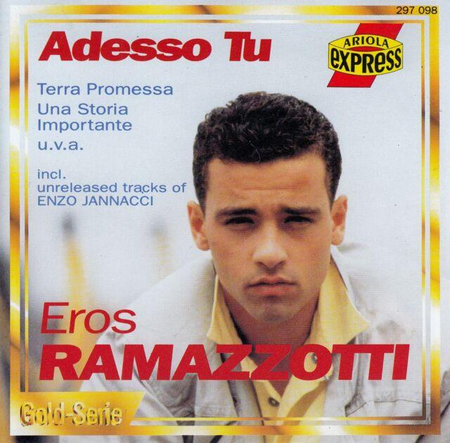EROS RAMAZZOTTI : ADESSO TU / CD - TOP-ZUSTAND