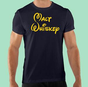 1f20d673a Black T Shirt, Funny, Bar Promo, Club Staff, Malt Whiskey, 100 ...