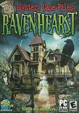RAVENHEARST Mystery Case Files PC Game  Adventure NEW