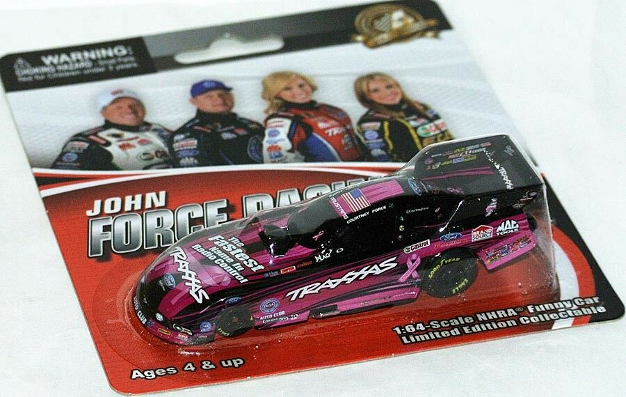 NHRA MUSTANG FUNNY CAR 2013  TRAXXAS PINK  Courtney Force - 1 64 Lionel