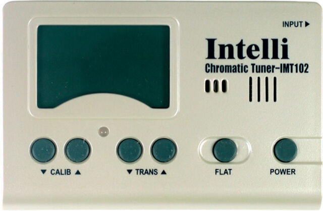 Intelli Digitale Accordatore cromatico,chitarra,ukulele,banjo,Mandolino im-102