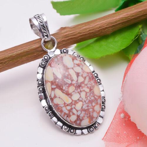 Free Shipping Natural Lazuli Lapis 925 Silver Handmade Gemstone Jewelry Pendant