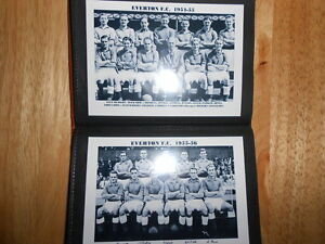 EVERTON-FOOTBALL-CLUB-Photo-Album-1950-039-s-AUTOGRAPHS