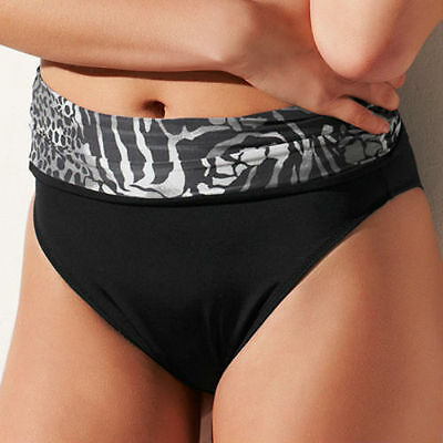 Brand New Fantasie Swimwear Nairobi Fold Bikini Brief 5471 Black VARIOUS SIZES