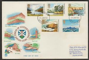 GREAT BRITAIN 1981 NATIONAL TRUST FOR SCOTLAND PRIVATE FDC D