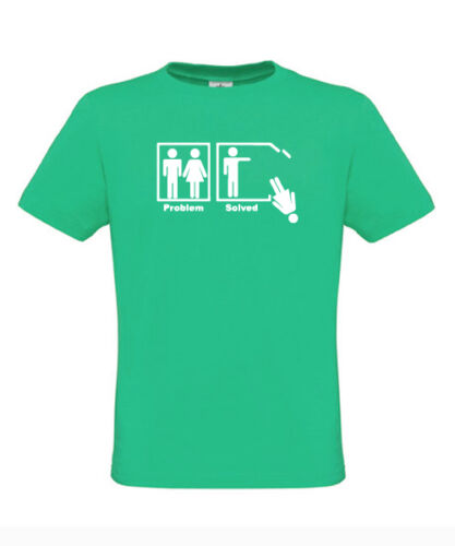 problem solved tshirt relationship couple husband wife pub fun funnyS M L XL XXL