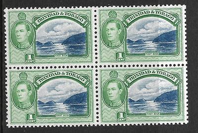 Initiative Trinidad & Tobago,kgv1,1938 Defins,1c Sg 246,mnh Block 4,cat 4.00 SpäTester Style-Online-Verkauf Von 2019 50% Briefmarken Großbritannien Kolonien
