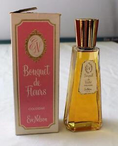 NOS-c-1960th-Eve-Nelson-Bouquet-de-Fleurs-Cologne-4-FL-OZ-Splash-w-box-VERY-RARE