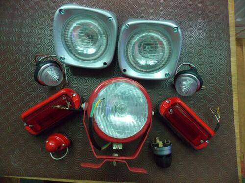FOR MASSEY FERGUSON TRACTOR   LIGHT  KIT 135 ETC