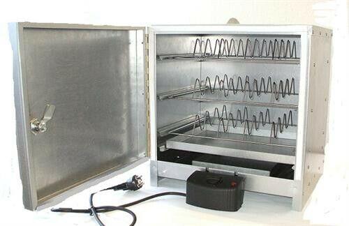 Smoki-tavolo-elettro-räucherofen 40x39x33cm da CR-in acciaio inox art. 4034