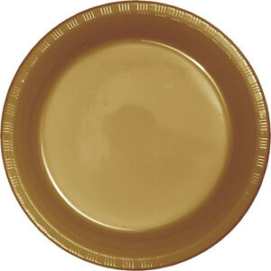 Image is loading 20-Glitter-Gold-Wedding-Birthday-Party-Tableware-7-  sc 1 st  eBay & 20 Glitter Gold Wedding Birthday Party Tableware 7\