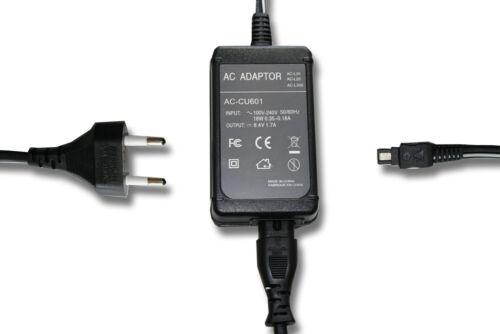 Videocámara fuente de alimentación cargador 8.4v 1.5a para Sony handycam dcr-hc46e