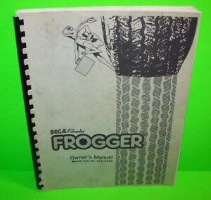 Gremlin-Sega-FROGGER-Original-1981-Video-Arcade-Game-Service-Repair-Owner-Manual