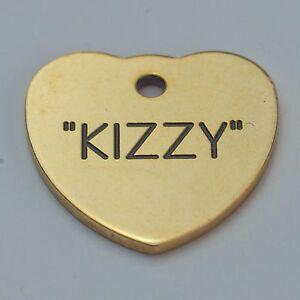 Qualité gravé pet tag-mini 20mm coeur laiton tag-afficher le titre d`origine DAcpwQ97-07183227-388956293