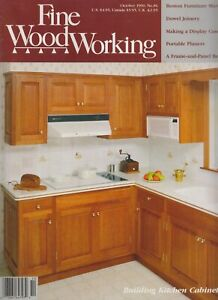 Fine Wood Working October 1990 Building Kitchen Cabinets ...