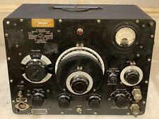 U.S. Military Navy Standard Signal Generator Type No 1001-A General Radio Co Old