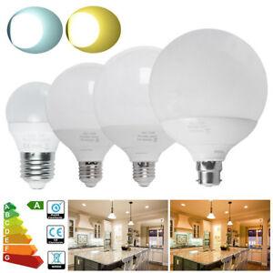 3-2-1x-B22-E27-G45-G95-G120-LED-Globe-Bulbs-5W-12W-15W-18W-BC-ES-Spotlight-Ball