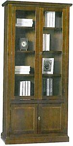 Vetrina-cristalliera-legno-massello-arte-povera-mobile-ufficio