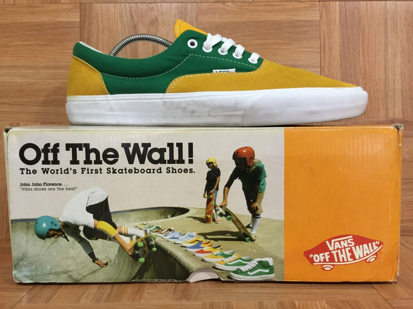RARE VANS Era Classic OTW Pack gold Fusion Amazon With Retro Vintage Box Sz 13