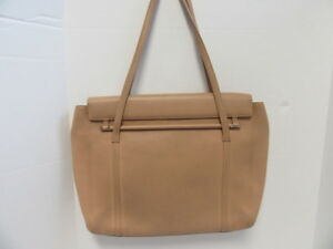 c8b5cd1255e Image is loading CARTIER-TAN-LEATHER-TOTE-BAG